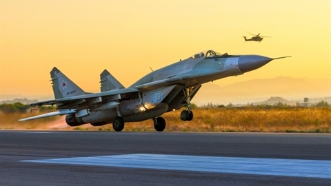 Tiêm kích Nga suýt bị phòng không Iran bắn hạ tại Syria
