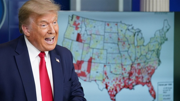 Hơn 4 triệu người Mỹ nhiễm COVID-19, ông Trump gây chú ý