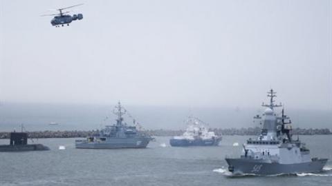 Nhóm tấn công tàu sân bay Mỹ áp sát căn cứ Tartus