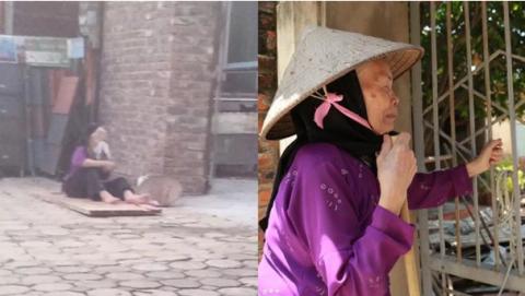 Cụ bà bị con đuổi khỏi nhà: 'Chết cũng không cần'