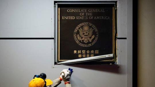 Trung Quốc và Mỹ - hai cách đóng cửa lãnh sự quán