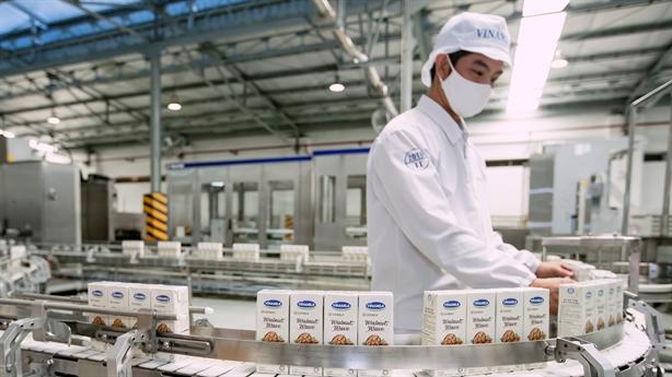 Doanh thu nội địa và xuất khẩu của Vinamilk tăng trưởng cao
