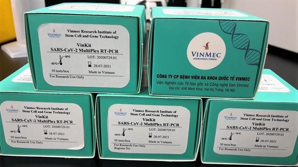 Vinmec phát triển 2 bộ kit phát hiện và chẩn đoán Covid-19
