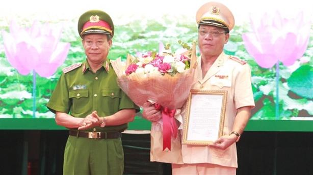 Thiếu tướng Nguyễn Hải Trung làm Giám đốc Công an Hà Nội