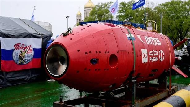 Nga công bố siêu robot ngầm vượt trước đối thủ