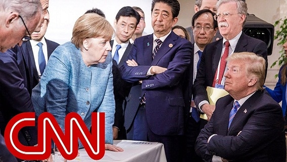 Vì sao bà Merkel được tin tưởng hơn ông Trump?
