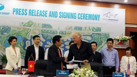 'Ông lớn' nào xây dựng sân golf 800 tỷ tại Quảng Bình?