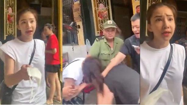 Nữ diễn viên ẩu đả với anti-fan trên phố: 'Đừng cà khịa'