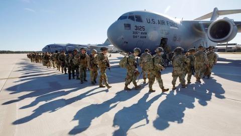 Mỹ loay hoay với ý định rút bớt quân khỏi châu