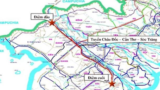 Đề xuất xây cao tốc nối cảng Trần Đề