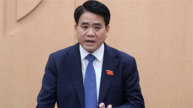 Tạm đình chỉ công tác Chủ tịch Hà Nội Nguyễn Đức Chu