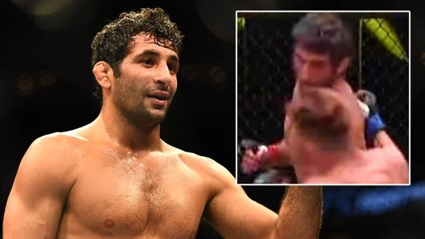 Võ sĩ Beneil Dariush gây bất ngờ với cú knock-out 'điên rồ'