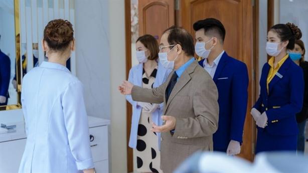 Quy trình phòng Covid-19 nghiêm ngặt ở Thẩm mỹ viện Ngọc Dung