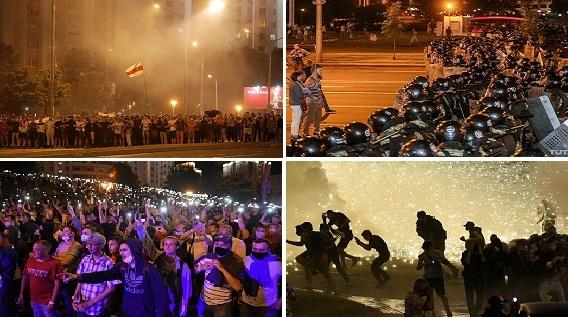 Bạo loạn ở Belarus: Hình bóng Maidan Ukraine