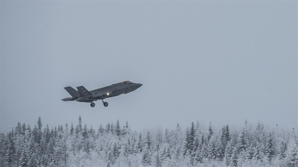 Mỹ huấn luyện với F-35 chịu rét -40 độ C
