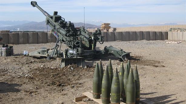 Lựu pháo Mỹ được trang bị đạn Mach 5