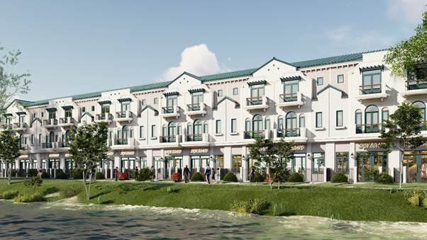 Những 'điểm cộng' tăng giá trị nhà phố tại River Park 1