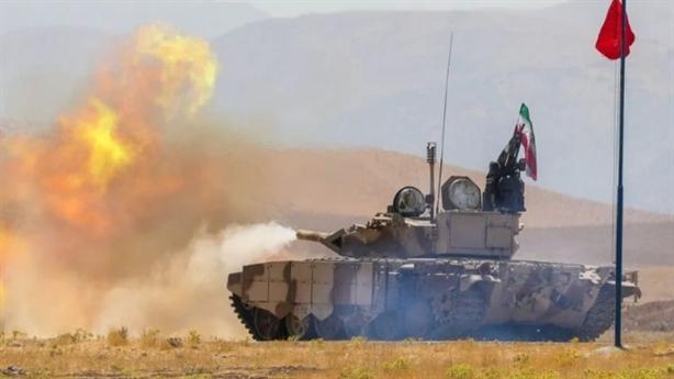 Xe tăng Iran chặn đứng đòn đánh của TOW