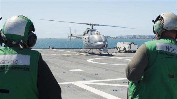 MQ-8, đòn tấn công nối dài của tàu LCS bị rơi
