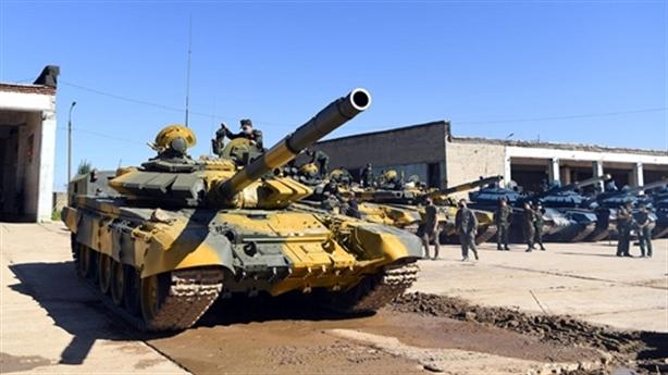 Chiến xa T-72B3 cùng tuyển Việt Nam sẵn sàng tại Army Games-2020