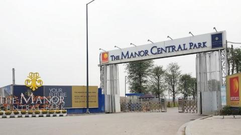 Nhiều biệt thự The Manor Central Park xây dựng chưa có ĐTM?