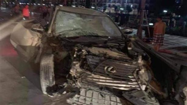 Xe Lexus gây tai nạn, nữ công an phường tử vong