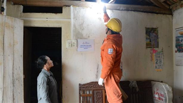 Điện bậc thang hỗ trợ người nghèo... 18.000 đồng/tháng?