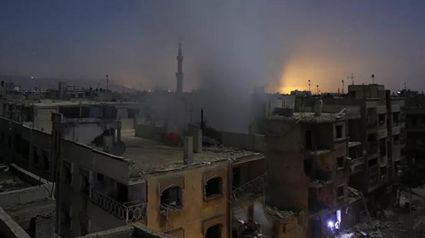 Vụ nổ khiến Syria chìm trong bóng tối