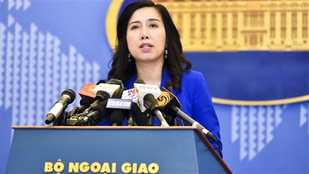 Yêu cầu Trung Quốc hủy bỏ tập trận ở Hoàng Sa