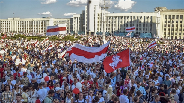 Nga sẵn sàng công bố bằng chứng nước ngoài can dự Belarus