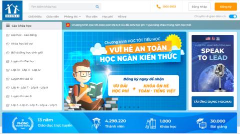 Galaxy đầu tư vào dịch vụ giáo dục trực tuyến Hocmai.vn