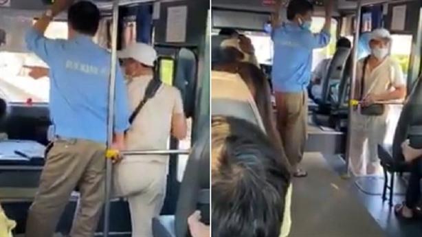 Xưng thanh tra xe buýt dọa cắt cổ khách: Khách nhận lỗi?