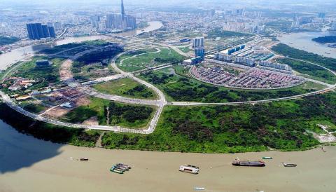 Triển khai đấu giá 9 lô đất trong KĐT mới Thủ Thiêm