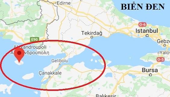 Mỹ mua cảng biển Hy Lạp, bóp ngẹt lối vào Biển Đen?