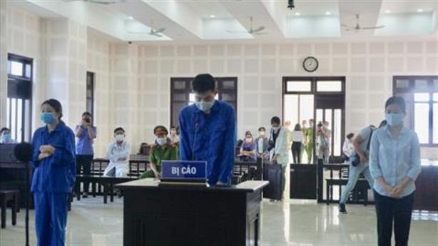 Tuyên án bị cáo người Trung Quốc nhập cảnh trái phép