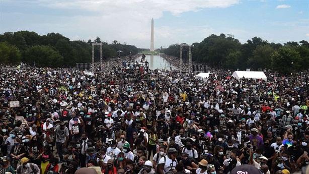 Biểu tình, tuần hành lớn chống phân biệt chủng tộc ở Mỹ