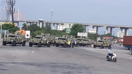 Việt Nam nhận thêm thiết giáp hạng nhẹ IAG Guardian Tactical