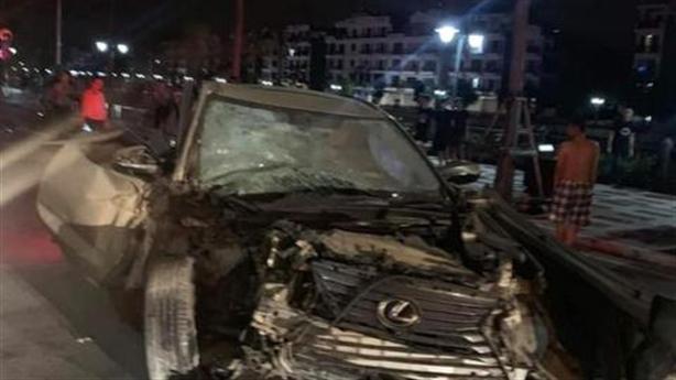 Con đại gia lái Lexus gây tai nạn bị khởi tố