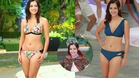 Mỹ nhân 1,6m nhưng quá đẹp đăng quang Hoa hậu Hồng Kông
