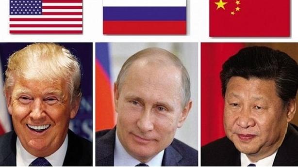 Nga trong cuộc đối đầu Trung-Mỹ
