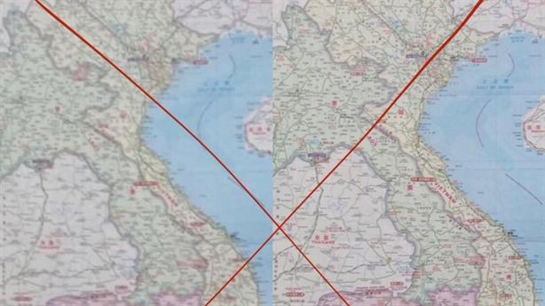 Doanh nghiệp nào ở Hải Dương treo bản đồ đường lưỡi bò?