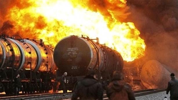 Tàu chở nhiên liệu Belarus bị tấn công tại Ukraine