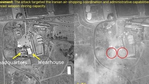 Tên lửa Israel rơi sát vị trí Nga đóng quân ở Syria