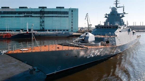 Kalibr sẽ được thay thế trên chiến hạm tàng hình Nga