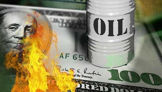 Dollars Mỹ mất giá 36%, kích thích giá dầu tăng mạnh