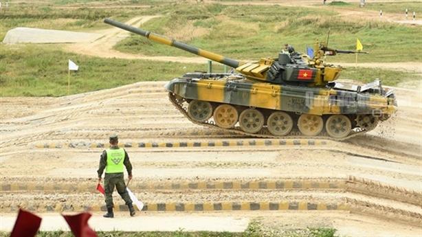 Việt Nam lên hạng đấu với Nga tại Tank Biathlon 2021