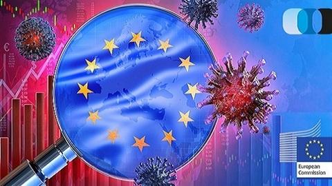 Kinh tế sụt giảm kỷ lục, EU 'khó thở'