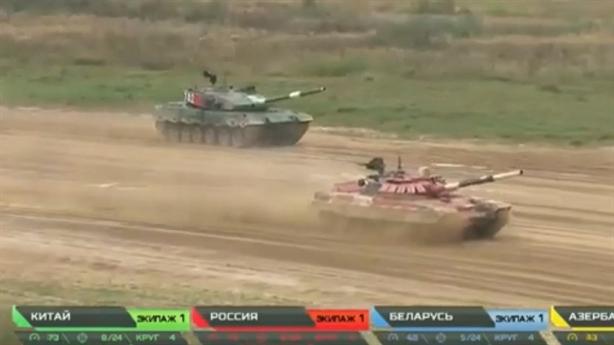 'Siêu tăng' Type-96B Trung Quốc thua T-72B3 khi đua tốc độ