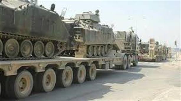 Ankara đã chuyển xe tăng đến biên giới với Hy Lạp