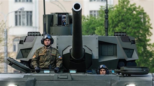 Nga lần đầu lộ sức mạnh siêu pháo của T-14